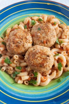 Tender and Delicious Chicken Meatballs with Rice - Russian Tefteli