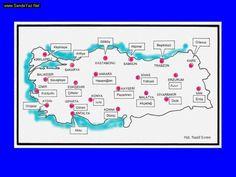 Köy Enstitülerinin açıldığı iller Important Facts, Diy And Crafts, Map, Yandex, Location Map, Maps