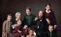 Ulyanov family, 1879 - Olga