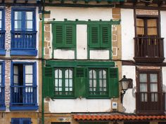 Basque Country > Colorful windows