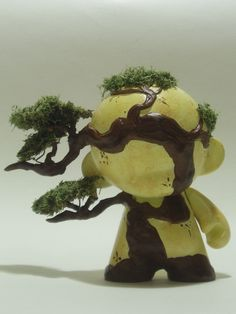 Bonsai Munny - by Shez Designs make your own--customizable kidrobot munny toys available at www.lazydazeco.com!