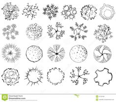 Find Set Treetop Symbols Architectural Landscape Design stock images in HD and millions of other royalty-free stock photos, illustrations and vectors in the Shutterstock collection. Thousands of new, high-quality pictures added every day. Landscape Architecture Drawing, Landscape Design Plans, Landscape Sketch, Architecture Images, Landscape Drawings, Landscaping Design, Photoshop, Tree Plan, Plant Drawing