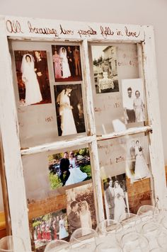 Burlap Decorating Ideas for Weddings | Grand parents and parents wedding pictures