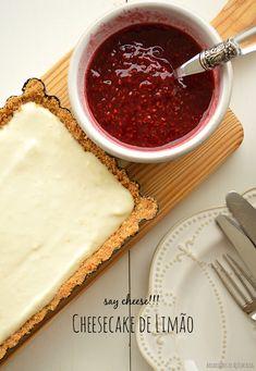 Bocadinhos de Açúcar: Cheesecake de Limão