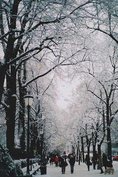 Winter nostalgia(Oslo, Norway) by jennifée