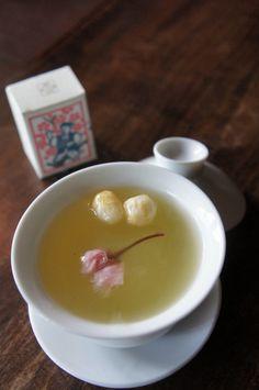Japanese Hot Dessert Drink | Kuzu-yu 葛湯 ♥ Dessert www.japantravel.com