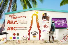 caribbean style brand - Google Search Jamaican Restaurant, Beach Party, Visual Identity, Caribbean, Fun, Travel, Google Search, Style, Swag