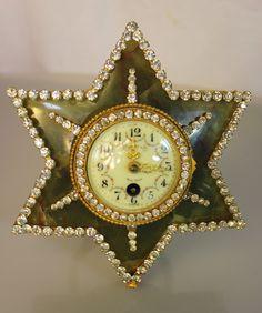 Tiffany & Co. Antique Agate Clock