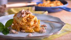 Receta | Pasta con mi salsa secreta (verduras y atún) - canalcocina.es