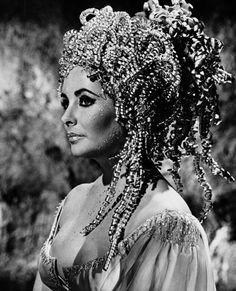 Elizabeth Taylor ~ Cleopatra, 1963