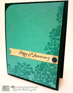 Gorgeous anniversary card