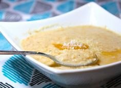 """Low Carb Coconut """"Oatmeal"""" - Foodie Fiasco"""