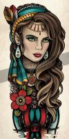 Gypsy Tattoo Lace by Sam-Phillips-NZ