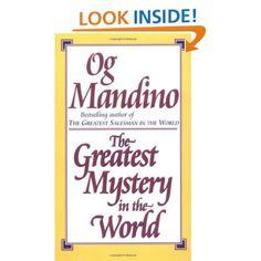 Amazon.com: Greatest Mystery in the World (9780449225035): Og Mandino: Books