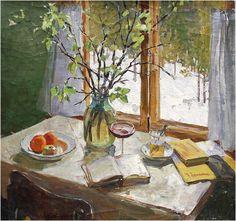 Эдвард Выржиковский Запах весны. 1965