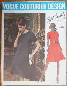Vintage 1970s Vogue Cocktail Dress Sybil by strangenotions on Etsy