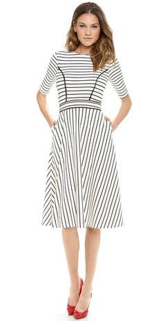 Cynthia Rowley Striped Dress   SHOPBOP SAVE 25% use Code:INTHEFAMILY14