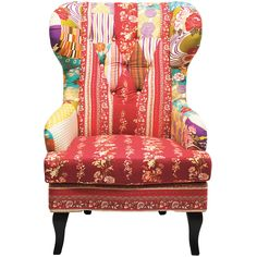 This glorious patchwork wingback armchair is the latest in our Romany range. It'll add comfort and atmosphere to any room, but we think it'll look especially fantastic in the bedroom corner with a matching Romany footstool