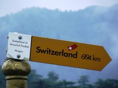 """Mini Switzerland:  On 7 July 1992, Mr. Willy T. Blazer, Vice Counselor and Head of Chancery of Switzerland in India brought Khajjiar on the world tourism map by christening it """"Mini Switzerland"""". He also put a sign board of a yellow Swiss hiking footpath showing Khajjiar's distance from the Swiss capital Berne-6194 km.. Mini Switzerland Of India, Khajjiar, Himachal Pradesh - (8 pictures)"""