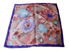 Fesd meg saját selyemkendődet a kezdő selyemfestés tanfolyamon!  www.silkyway.hu/selyemfestes-tanfolyam Scarves, Silk
