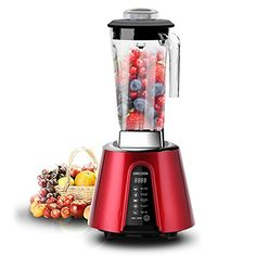 GRECOOK Living Food Blender--RedSometimes it takes great technology to bring us back to nature The GRECOOK Living Food Processor is at the forefront of blending technology. So powerful that it satis...