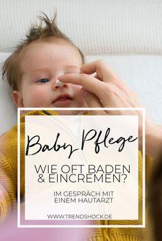 Wie pflegt mein Babys richtig? | 9 Fragen an den Hautarzt Neurodermitis | Schuppenflechte | Pflegeprodukte | Baby | Muttermilch | Mandelöl | Öl | Ölbad | Baden | Eincremen | Trockene Haut | Kinder | Kleinkinder | Shampoo | Shampoofrei | Nopoo | No Poo | Bübchen Sensitiv | Dermatologe | Kokosöl | Pflegelinie für Kinder und Babys | Ultra Sensitiv | Wasser | Überpflegen