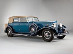 1932 Packard Individual Custom Twelve Convertible Sedan