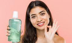 Domáca ústna voda: Vytvor si zabijaka vírusov a baktérií v ústnej dutine Water Bottle, Drinks, Drinking, Beverages, Water Bottles, Drink, Beverage