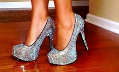 probably gonna go with silver for my prom shoes.