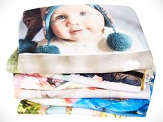 """$45 for a $110 50""""x60"""" photo blanket + free shipping"""