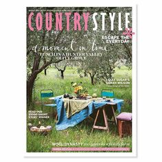 OUR AUGUST ISSUE ON SALE TOMORROW! Join us for a magical moment under the olive grove on chef Armando Percuoco and his wife Gemma's Hunter Valley property @valleyfieldescapes chat with @iquitsugar founder @_sarahwilson_ about her country childhood journey to Crookwell NSW to meet a family whose been farming sheep for 100 years now; take a holiday back in time with @annabellehickson and her family in Yamba on the NSW north coast. PLUS: we reveal our $5000 short story winner and much much…