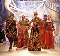 The must-have designs at Indian bridal fashion week 2013!