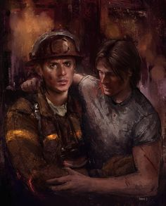 J2 AU fanart by beccj She speed painted this in only 8 hours!