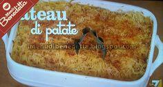 Gateau di Patate   la ricetta di Benedetta Parodi