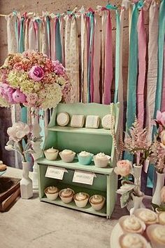 cupcake display and I have 3 of these type shelving units that I had in my store!: