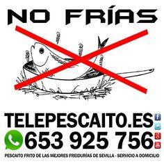 No frías!!! http://www.telepescaito.es #Sevilla