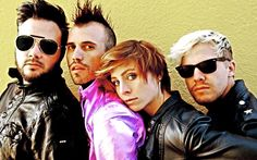 Neon Trees?..these guys put on a really good show...very energetic