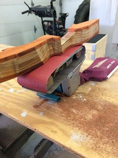 Picture of Sanding and Shaping the Riser