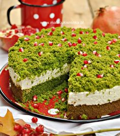 Different Cakes, Polish Recipes, Polish Food, Food Crafts, Piece Of Cakes, No Bake Desserts, Yummy Cakes, Bon Appetit, Finger Foods