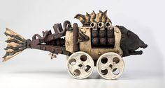 Harm Van Der Zeeuw, Nautilus, ceramic, gas reduction, 2015
