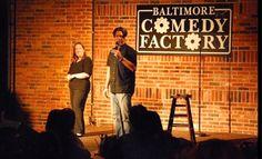 Baltimore Comedy Factory, Baltimore, MD.
