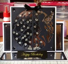 Homemade birthday card using tonic fairy dies
