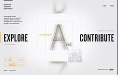 Typography meets typology in this handsome experiment that harnesses the world's handwriting. Contribute yours using Mobile Connect or delve into the data of this fully explorable and ever-evolving Typeface. Mobile Connect, Web Design, Information Architecture, Handwriting, Typography, Digital, Experiment, Desktop, Editorial