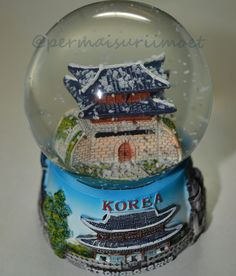 Korea Snowglobe | Souvenir and part of my Colection