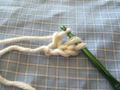 No foundation chain crochet tutorial