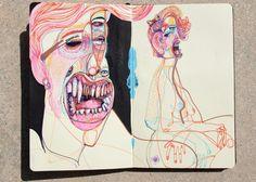 https://www.behance.net/gallery/16045541/Dirty-Moleskine-Part-II