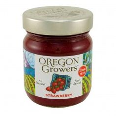 Oregon Growers & Shippers Strawberry Fruit Spread 12 oz.