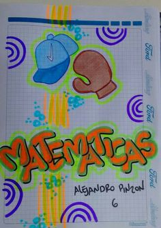 Idea para niños My Notebook, Diy And Crafts, Lily, Bullet Journal, Clip Art, Classroom, Lettering, Cool Stuff, School