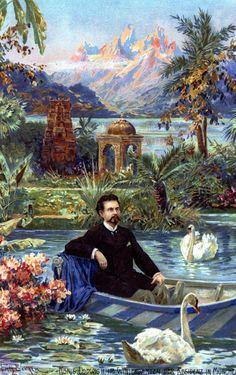 Ludwig II in the winter garden (Fritz Bergen). Bergen, Linderhof, Munich, Kaiser Franz, Daddy Long, Germany Castles, Neuschwanstein Castle, Fairytale Castle, Places In Europe