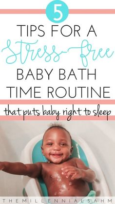 5 tips for a stress-free baby bath Mom advice: Bath time with baby can be stressful, but it certainly doesn't have to be. Check out these 5 tips for a stress-free baby bath time routine. Baby Bath Time Essentials, Sleep Training, Baby Bath Tub, Co-Bathing Baby Bath Time, Bath Time For Babies, Baby Arrival, After Baby, Pregnant Mom, Mom Advice, First Time Moms, Free Baby Stuff, Baby Sleep